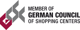Mitgliedschaftslogo des German Council of Shopping Centers